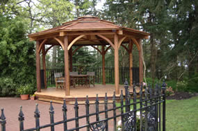 Gazebo for weddings and special occasions